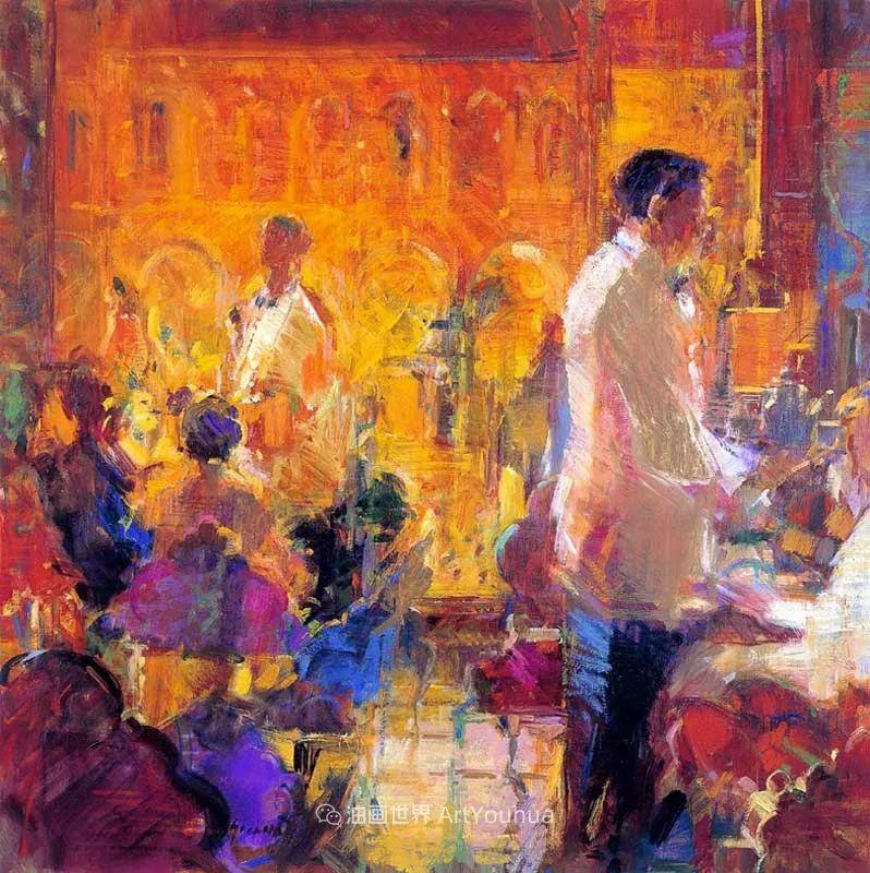 一场色彩的盛宴,英国画家Peter Graham插图69