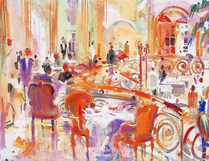 一场色彩的盛宴,英国画家Peter Graham插图77