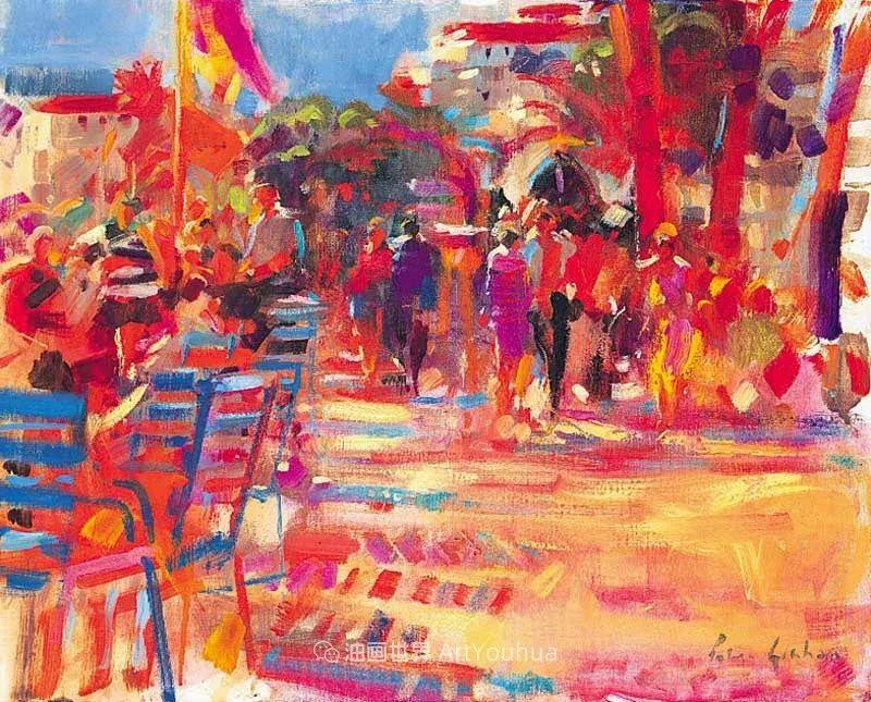 一场色彩的盛宴,英国画家Peter Graham插图79