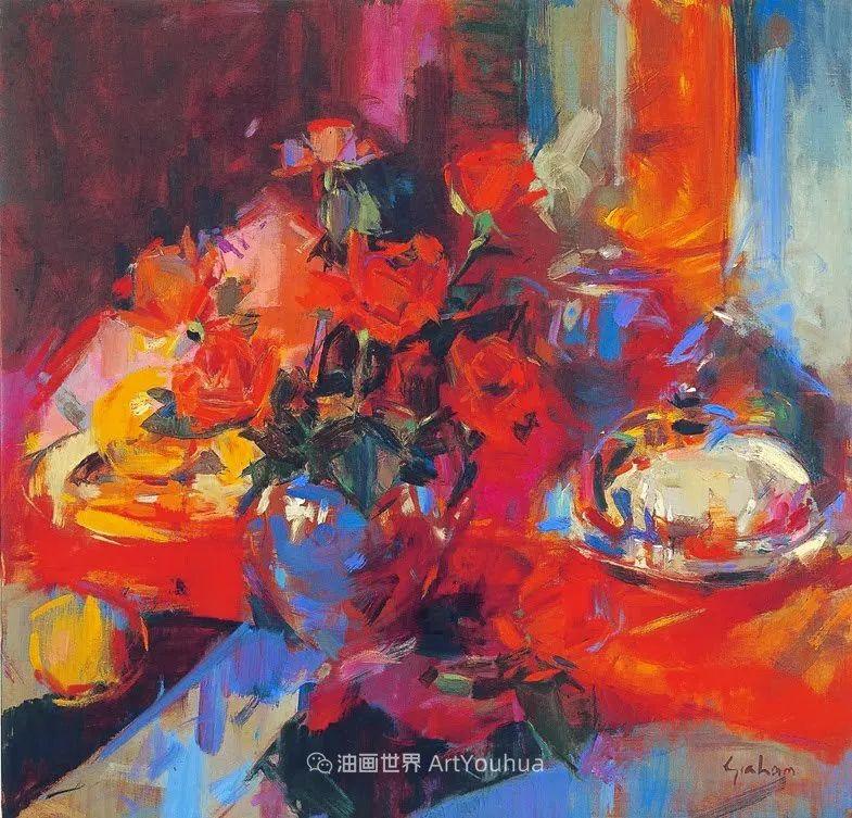 一场色彩的盛宴,英国画家Peter Graham插图81