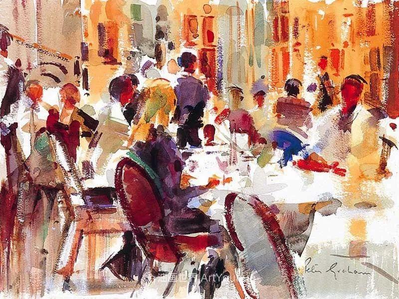 一场色彩的盛宴,英国画家Peter Graham插图85