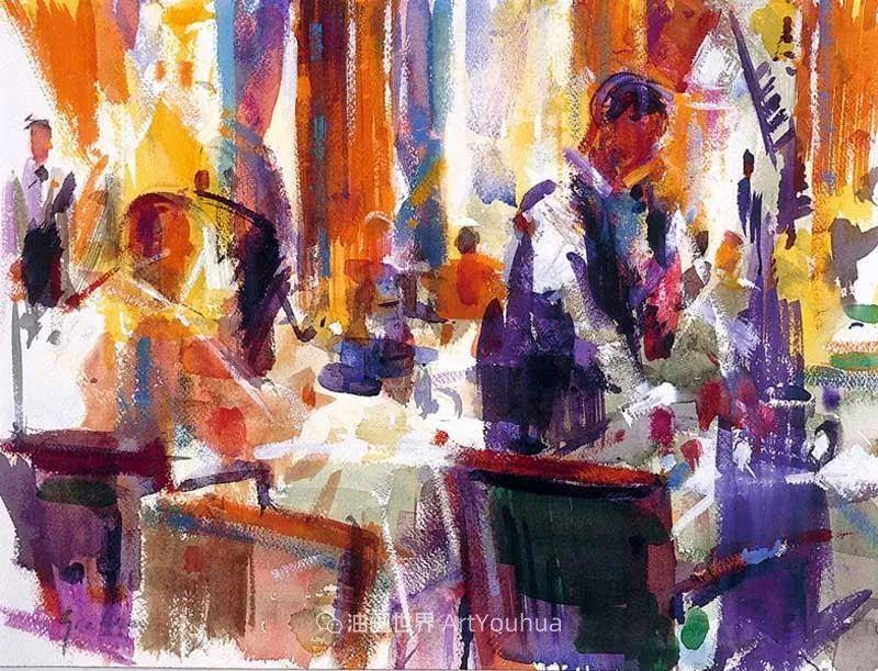 一场色彩的盛宴,英国画家Peter Graham插图87