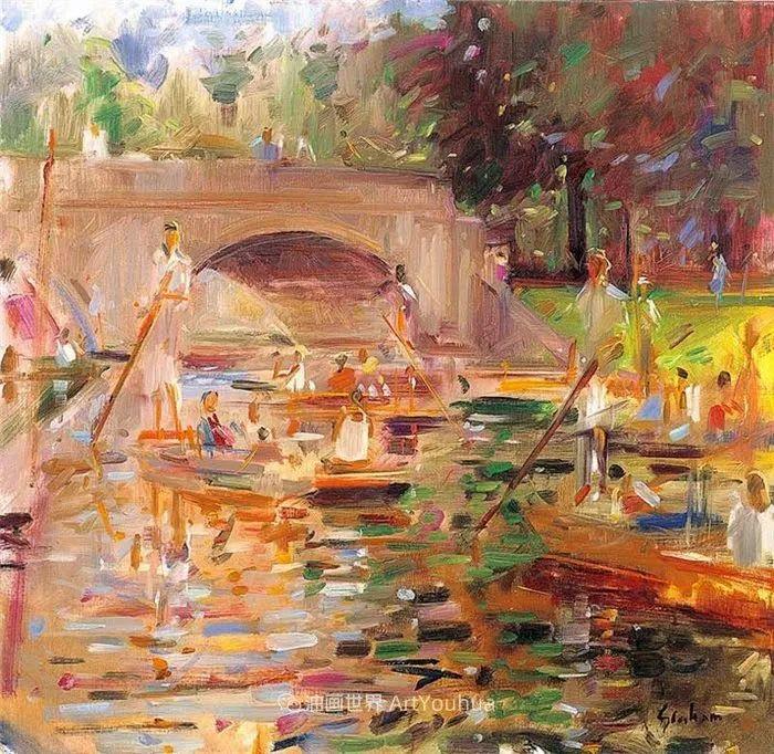 一场色彩的盛宴,英国画家Peter Graham插图89