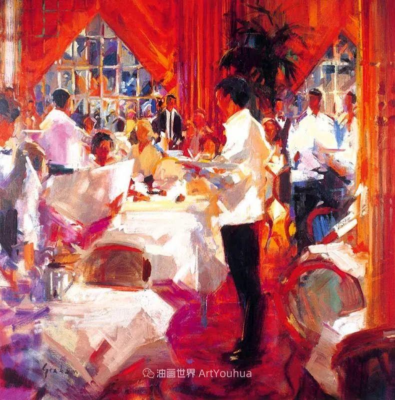 一场色彩的盛宴,英国画家Peter Graham插图91