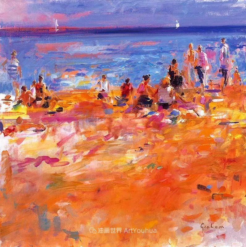 一场色彩的盛宴,英国画家Peter Graham插图97