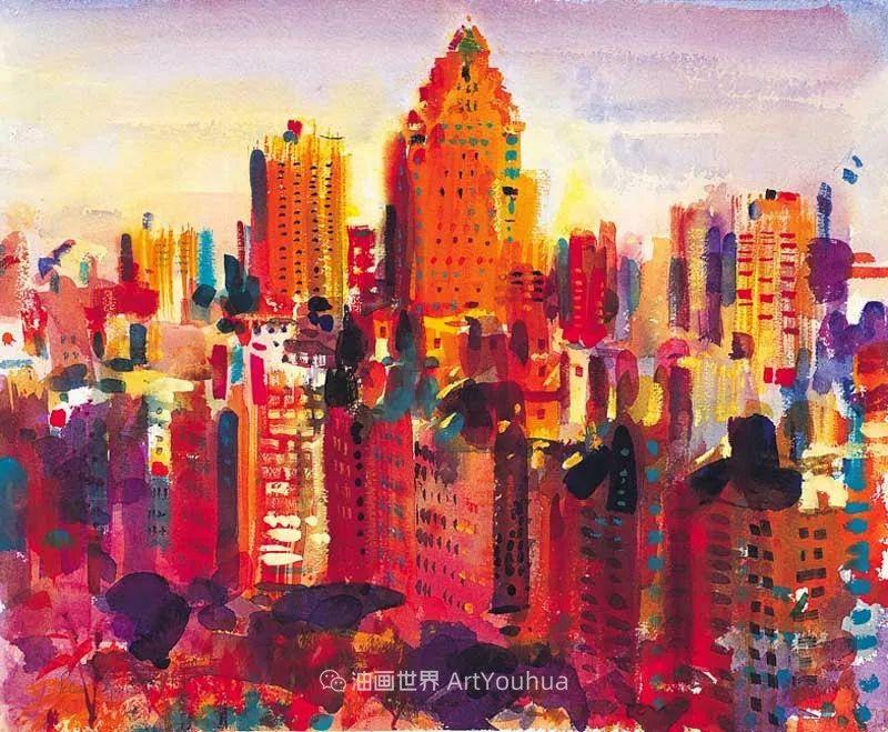 一场色彩的盛宴,英国画家Peter Graham插图101