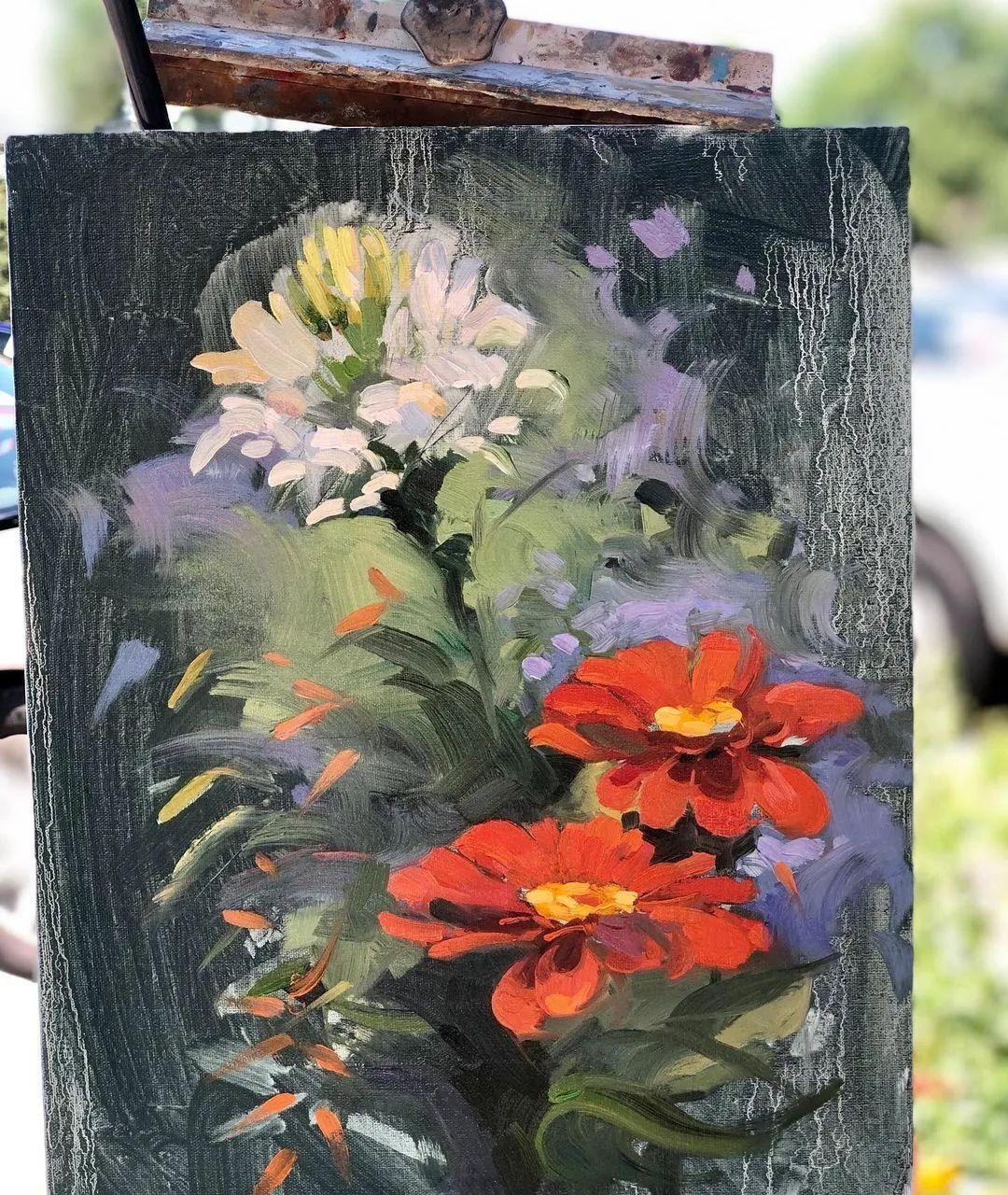 好美的风景与花卉,深入自然才能画出最美的画面!插图63