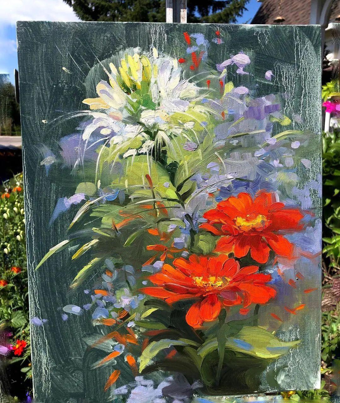 好美的风景与花卉,深入自然才能画出最美的画面!插图65