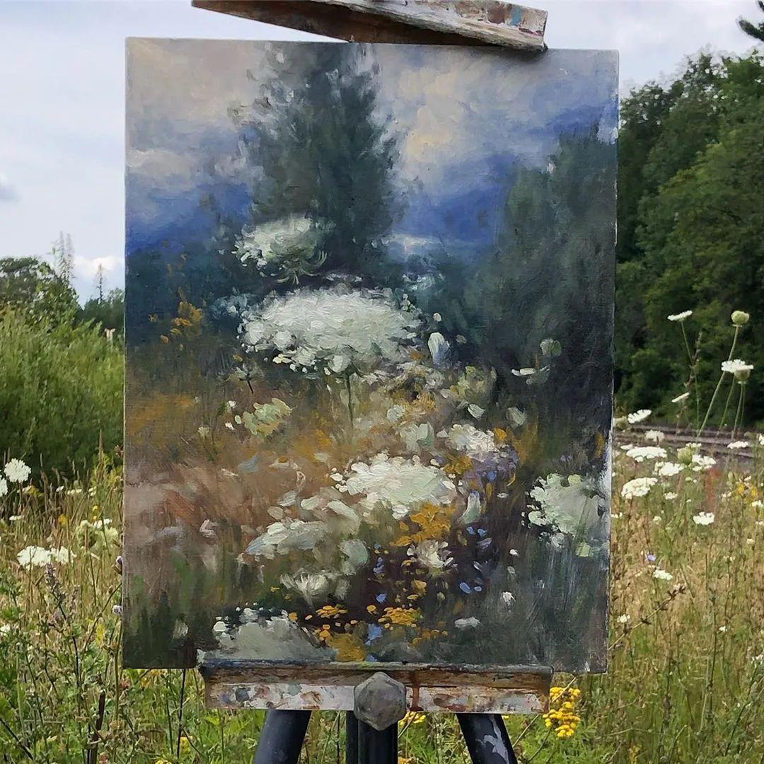 好美的风景与花卉,深入自然才能画出最美的画面!插图75