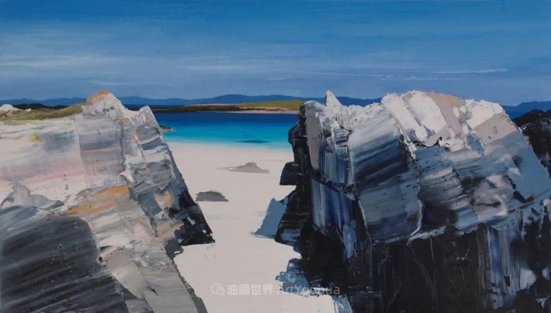 干净简约的油画风景,英国画家克里斯·布什插图17