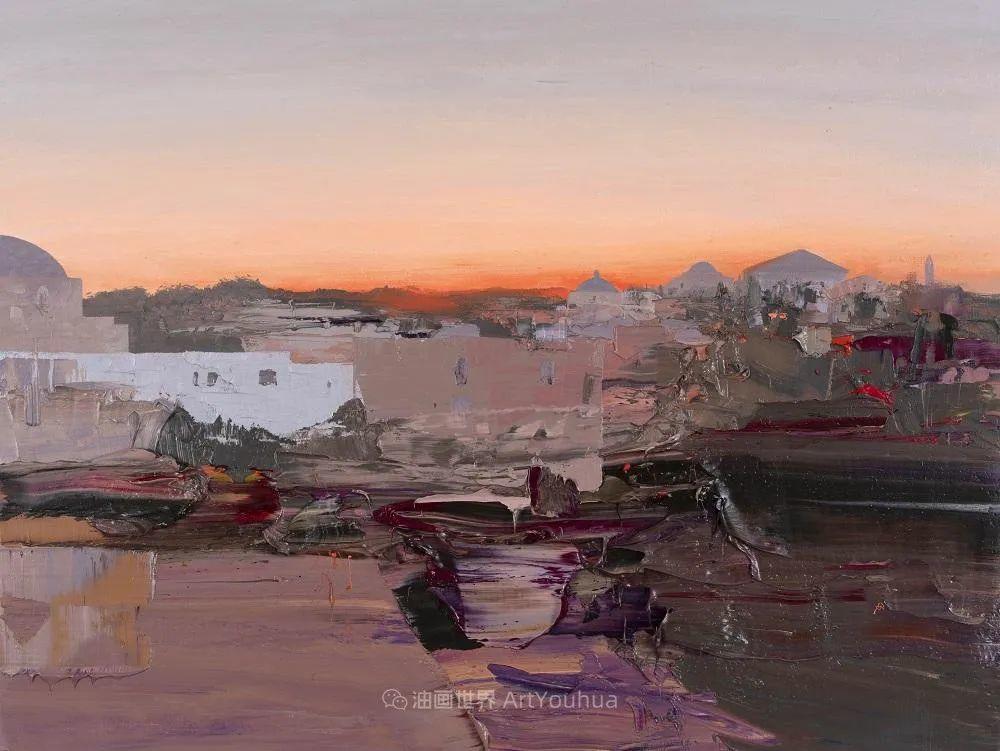 干净简约的油画风景,英国画家克里斯·布什插图21