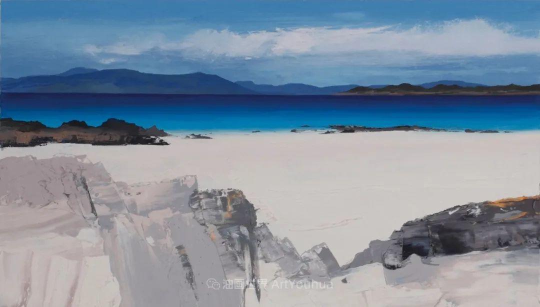 干净简约的油画风景,英国画家克里斯·布什插图23
