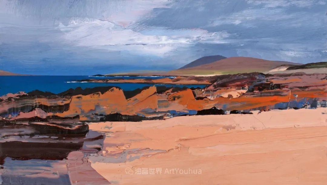 干净简约的油画风景,英国画家克里斯·布什插图29