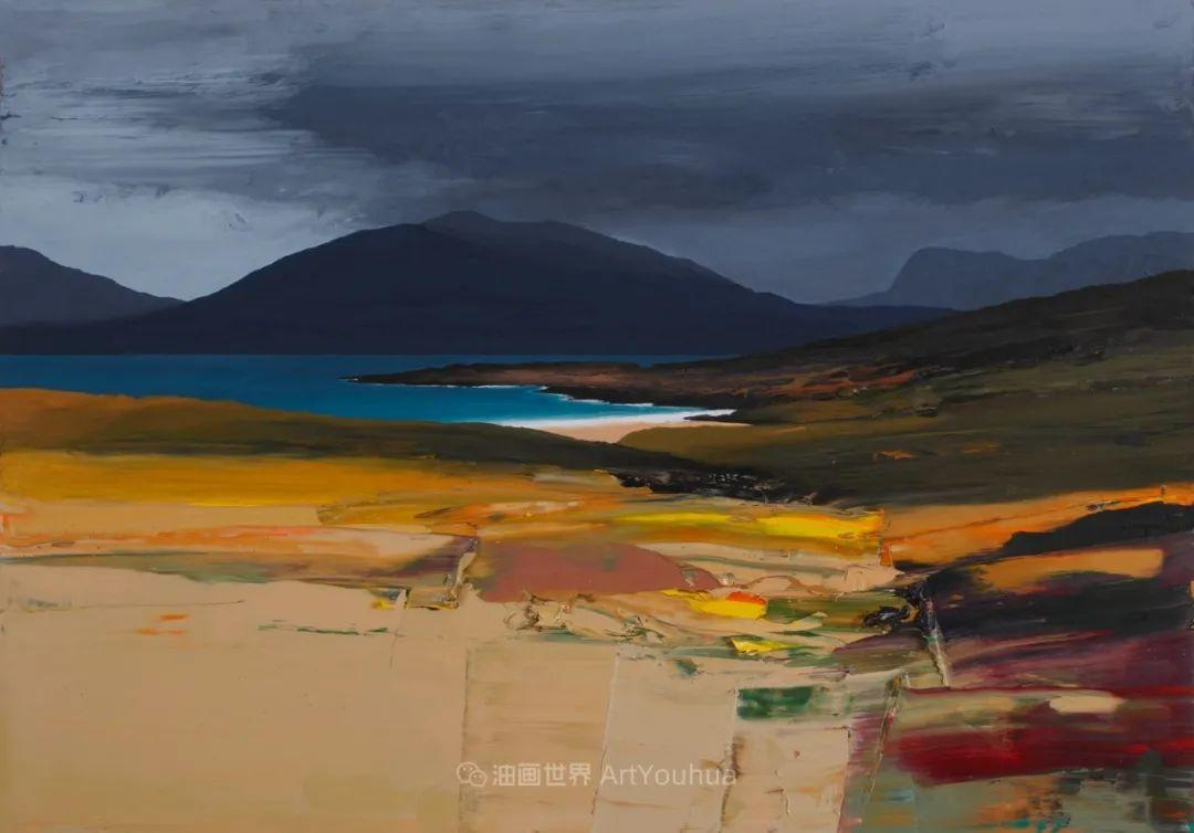 干净简约的油画风景,英国画家克里斯·布什插图35
