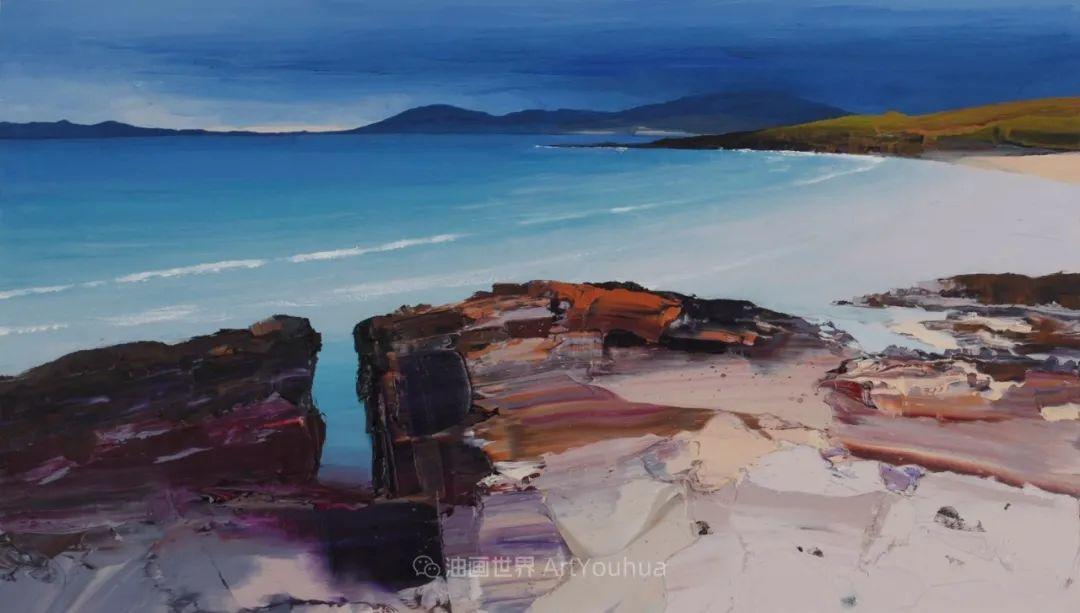 干净简约的油画风景,英国画家克里斯·布什插图39