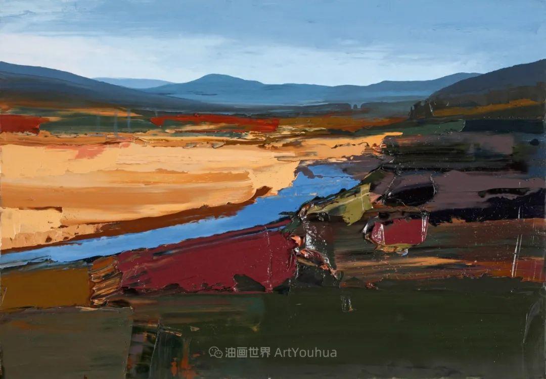 干净简约的油画风景,英国画家克里斯·布什插图41