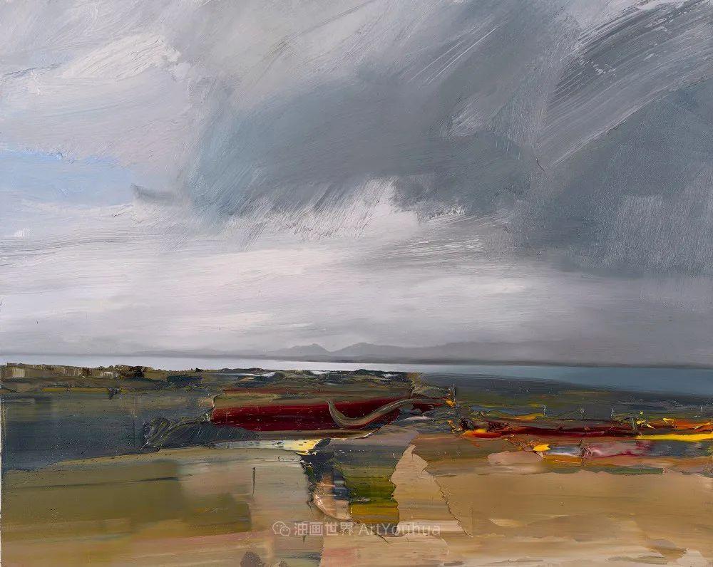 干净简约的油画风景,英国画家克里斯·布什插图43