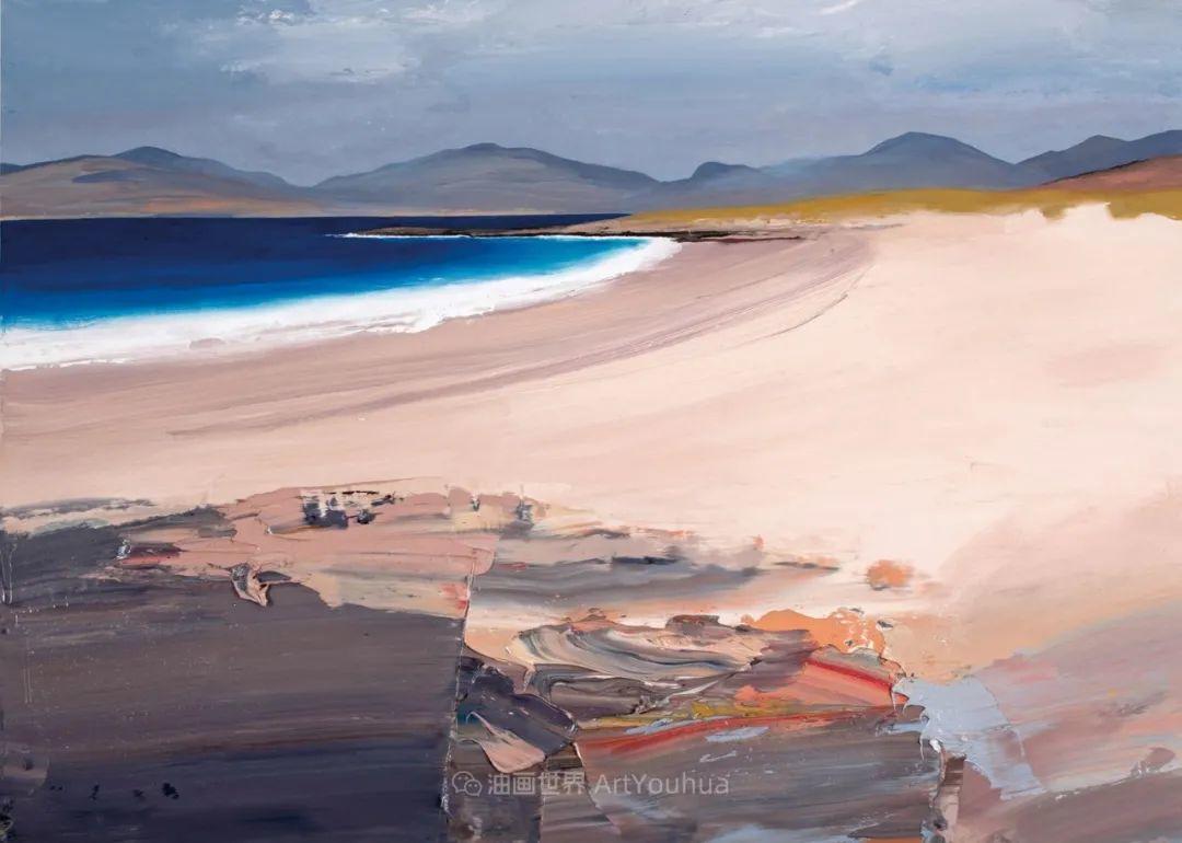 干净简约的油画风景,英国画家克里斯·布什插图45