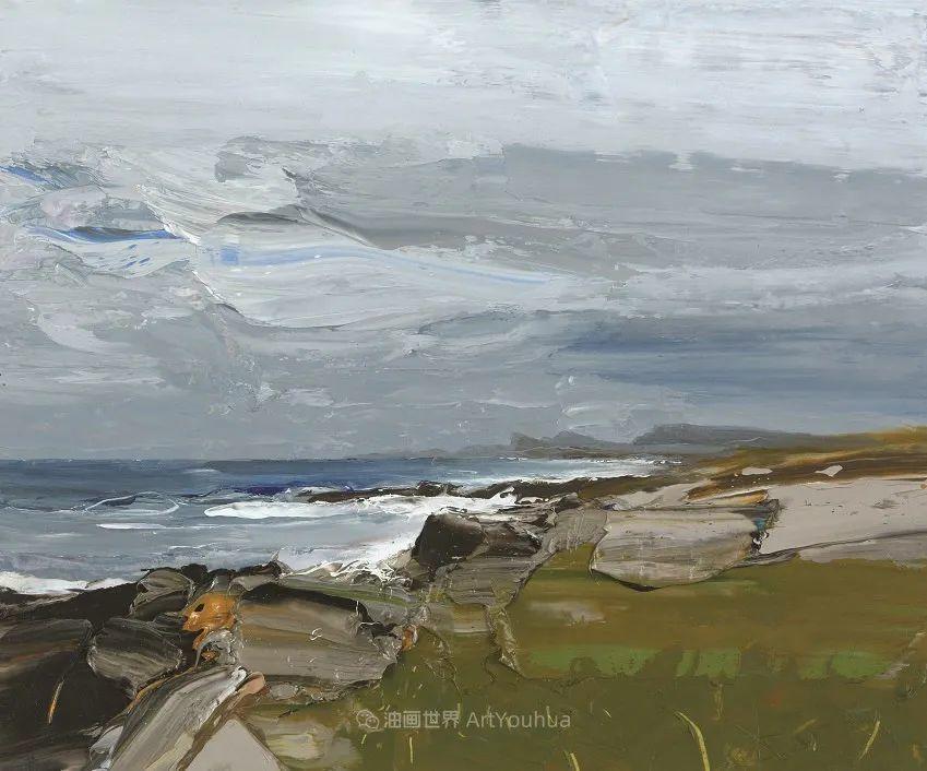 干净简约的油画风景,英国画家克里斯·布什插图51