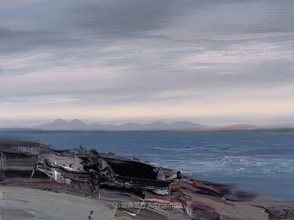 干净简约的油画风景,英国画家克里斯·布什插图53