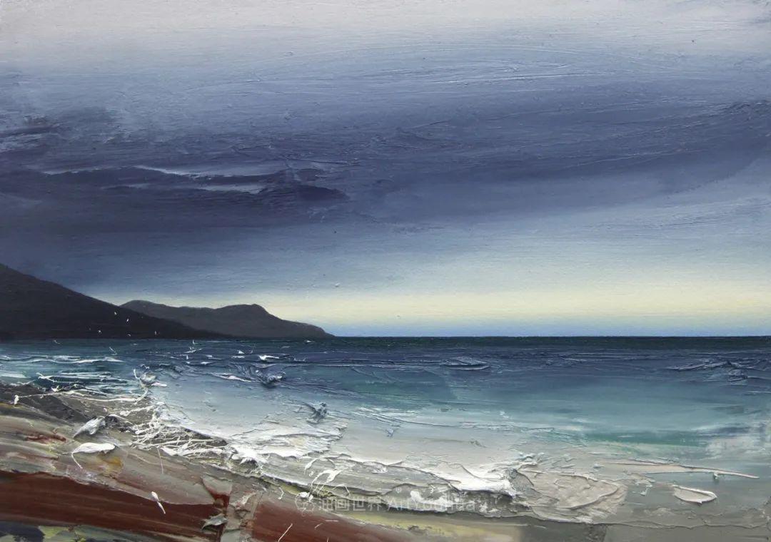干净简约的油画风景,英国画家克里斯·布什插图57