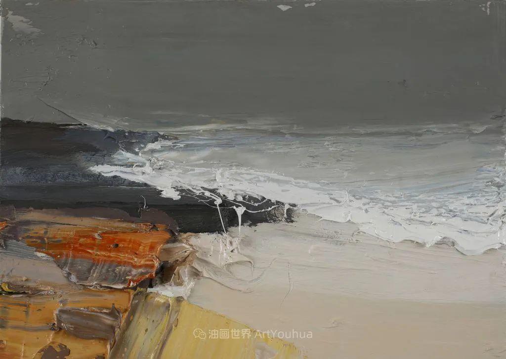 干净简约的油画风景,英国画家克里斯·布什插图59