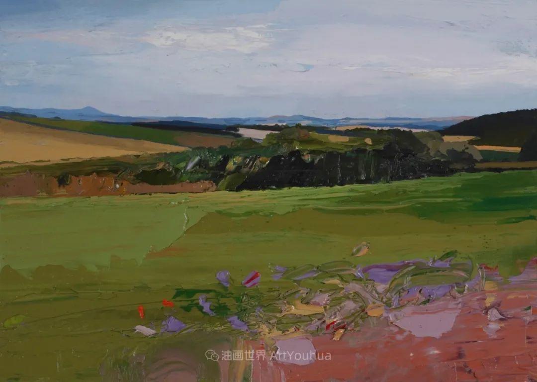 干净简约的油画风景,英国画家克里斯·布什插图61