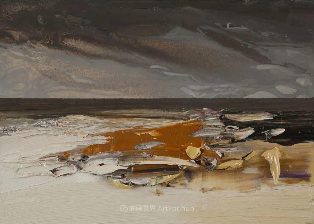 干净简约的油画风景,英国画家克里斯·布什插图63
