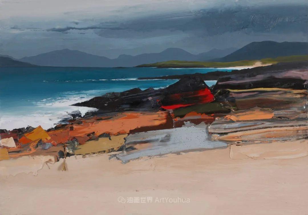 干净简约的油画风景,英国画家克里斯·布什插图77
