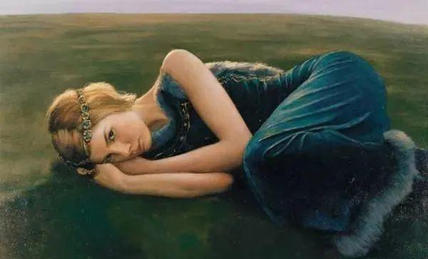 中国油画八人展,美丽的女人和风景!插图6