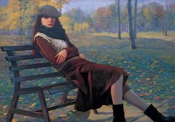 中国油画八人展,美丽的女人和风景!插图7
