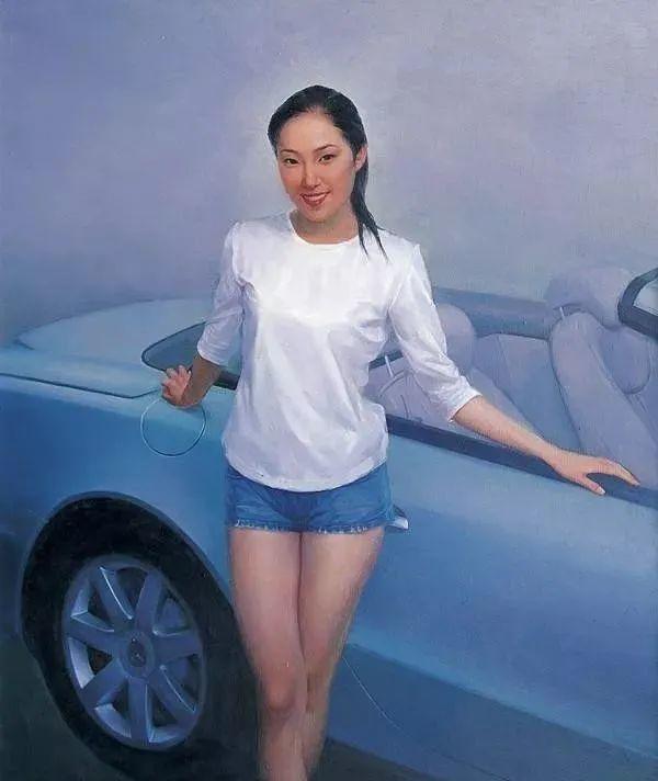 中国油画八人展,美丽的女人和风景!插图8