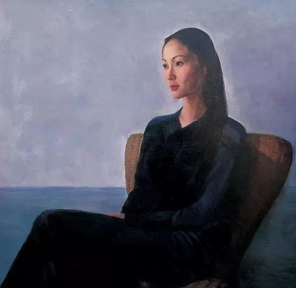 中国油画八人展,美丽的女人和风景!插图9