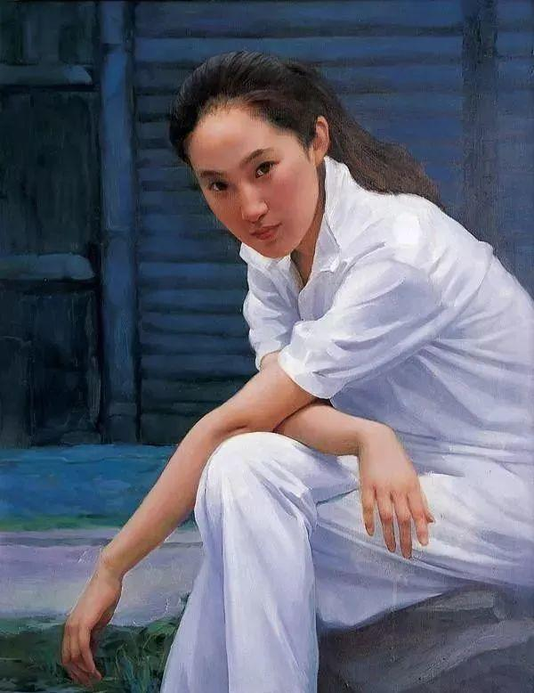 中国油画八人展,美丽的女人和风景!插图11