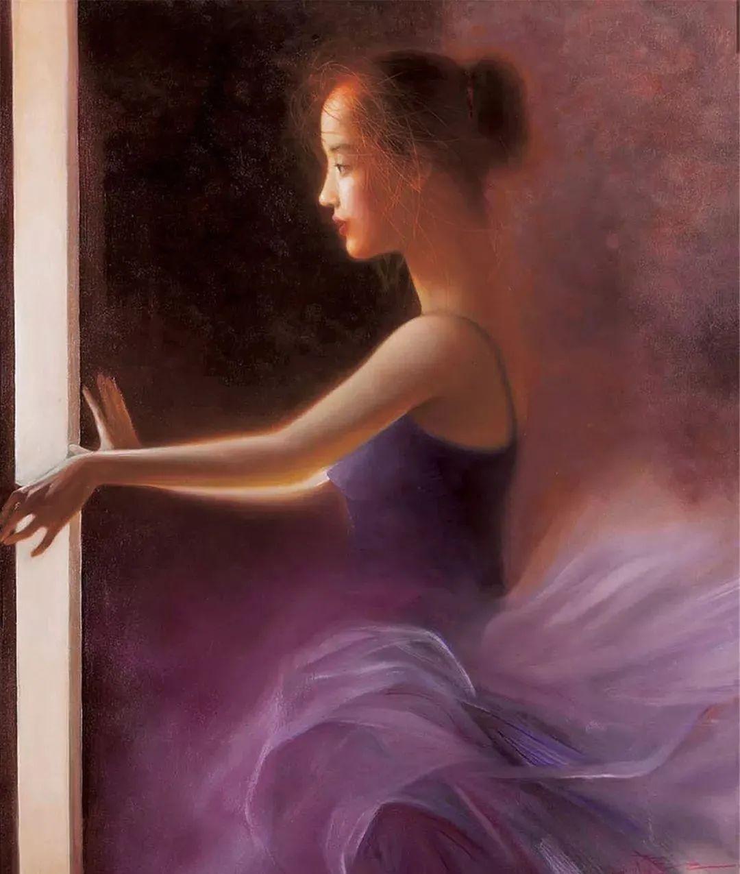 中国油画八人展,美丽的女人和风景!插图17