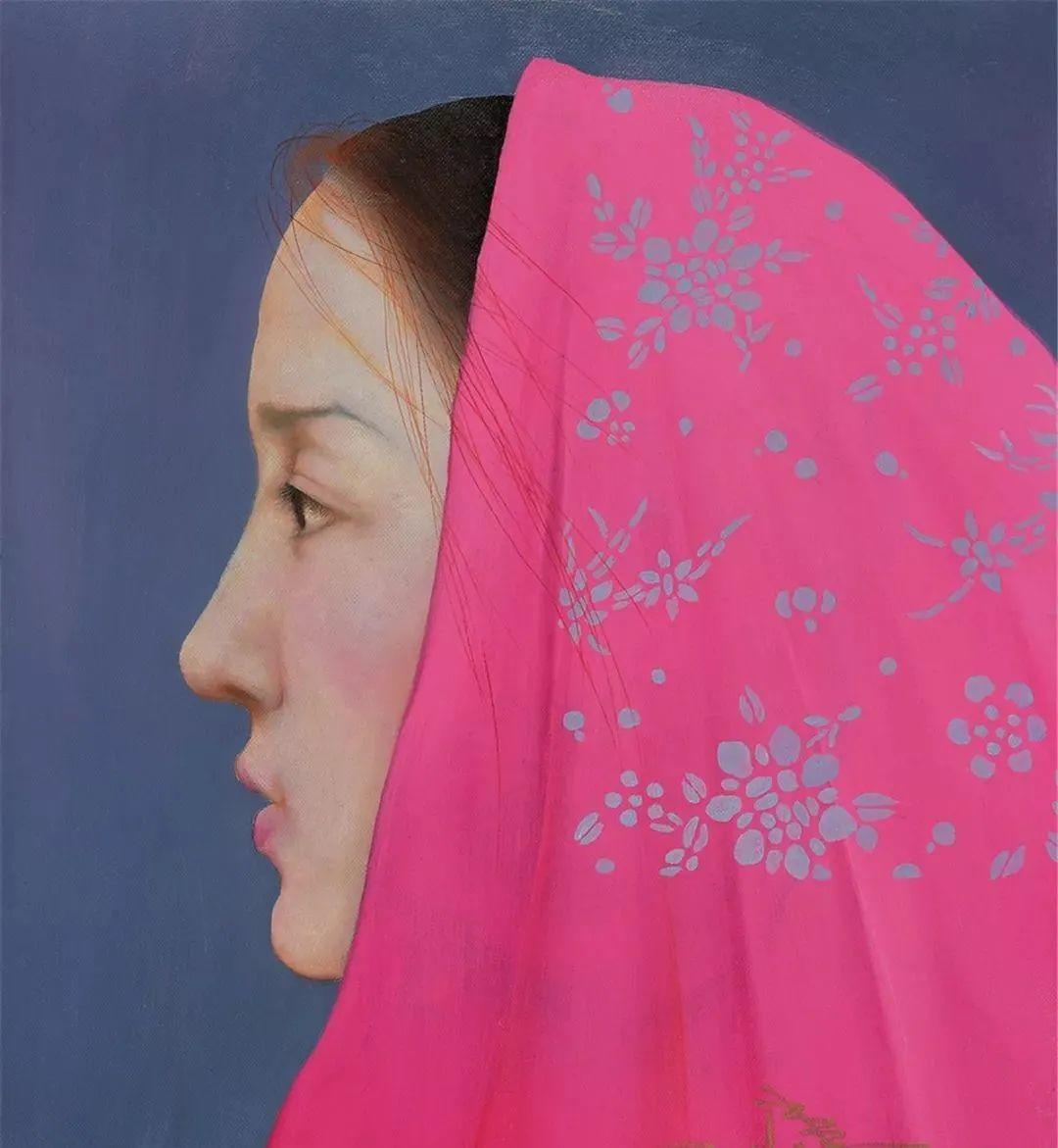 中国油画八人展,美丽的女人和风景!插图18