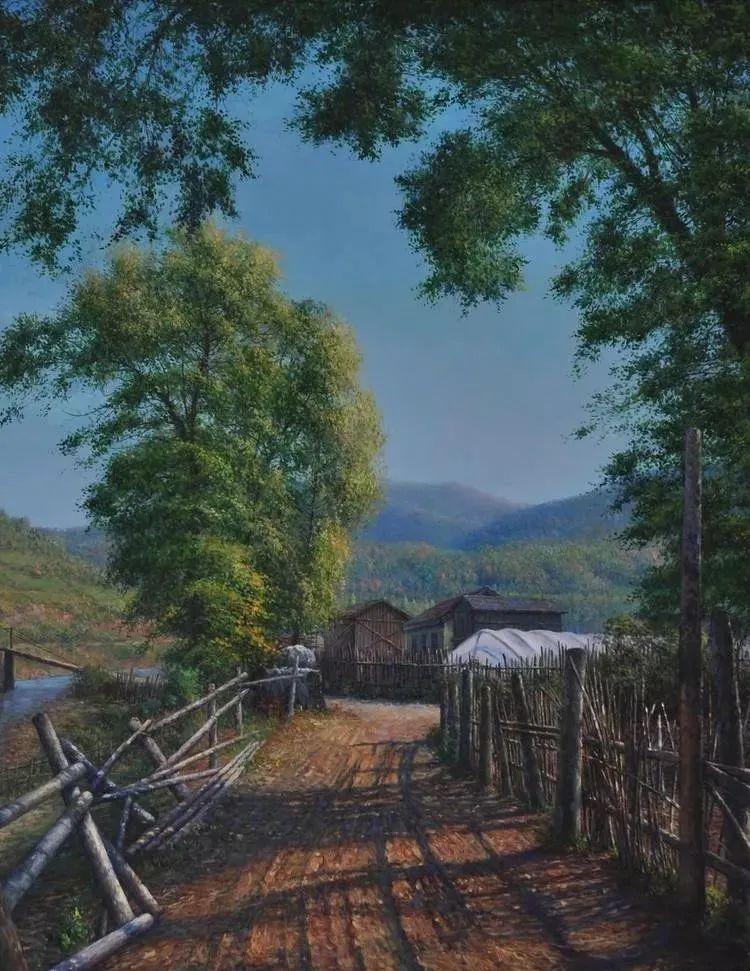 中国油画八人展,美丽的女人和风景!插图19