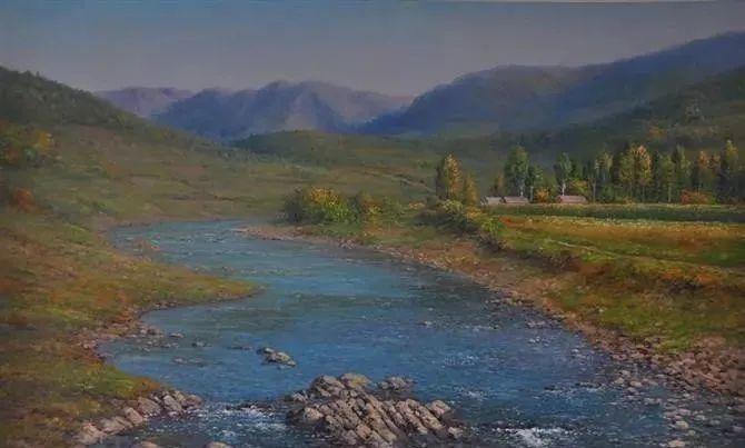 中国油画八人展,美丽的女人和风景!插图22