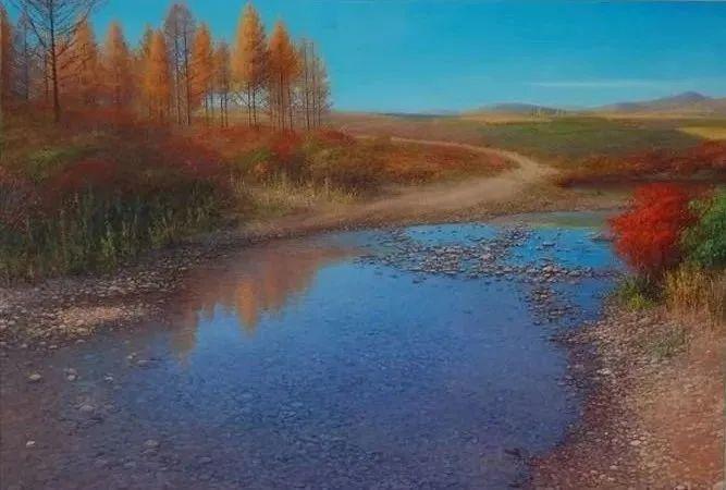 中国油画八人展,美丽的女人和风景!插图24
