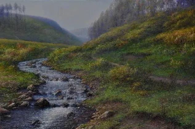 中国油画八人展,美丽的女人和风景!插图25