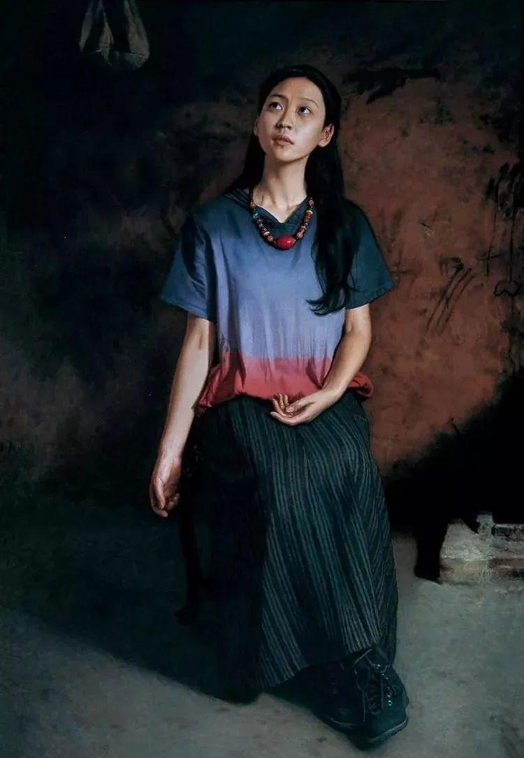 中国油画八人展,美丽的女人和风景!插图26
