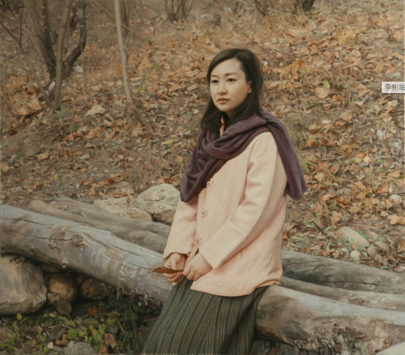 中国油画八人展,美丽的女人和风景!插图27