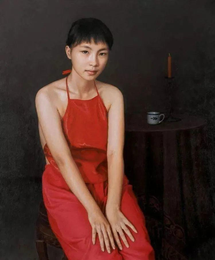中国油画八人展,美丽的女人和风景!插图29