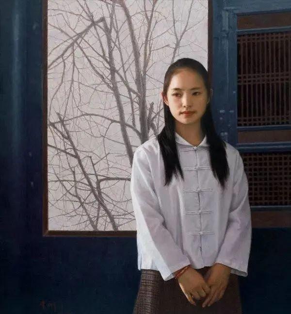 中国油画八人展,美丽的女人和风景!插图31
