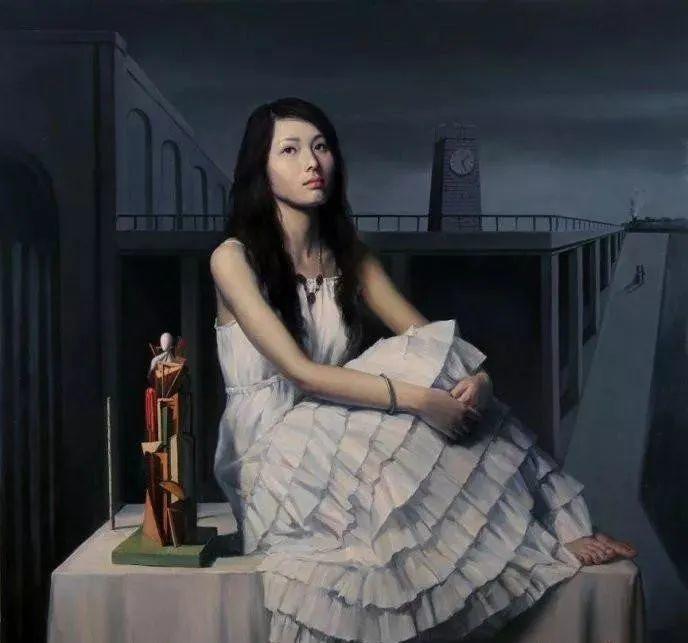 中国油画八人展,美丽的女人和风景!插图32