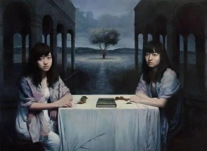 中国油画八人展,美丽的女人和风景!插图33