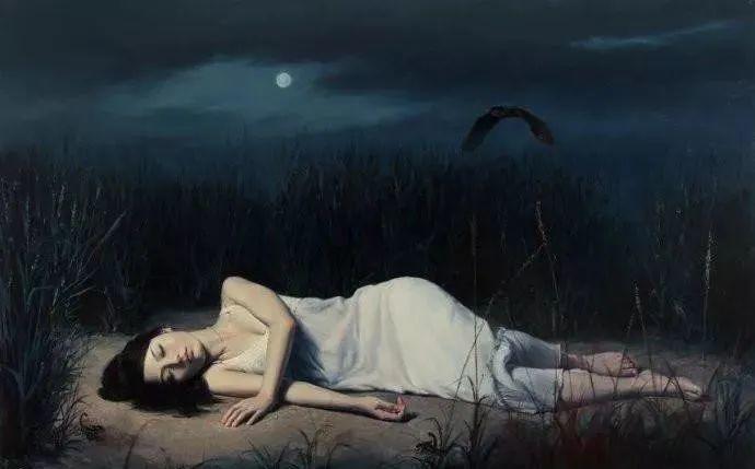 中国油画八人展,美丽的女人和风景!插图34