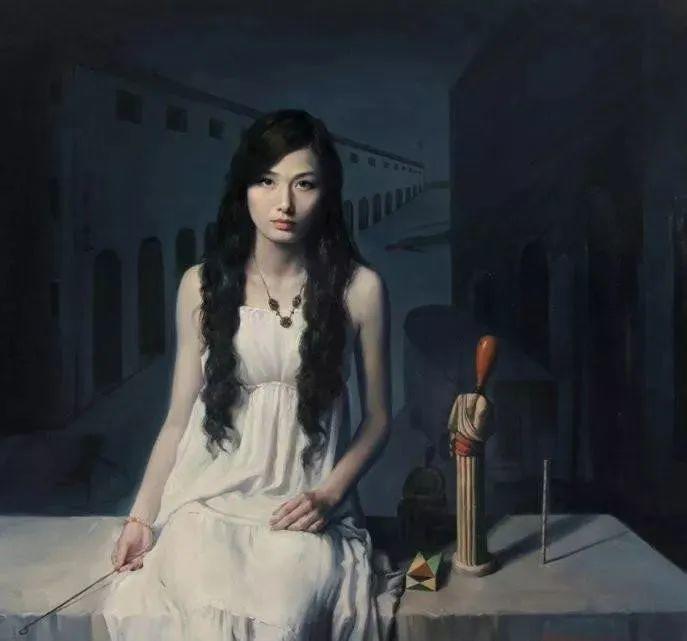 中国油画八人展,美丽的女人和风景!插图35