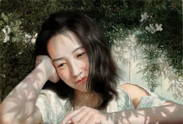 中国油画八人展,美丽的女人和风景!插图36