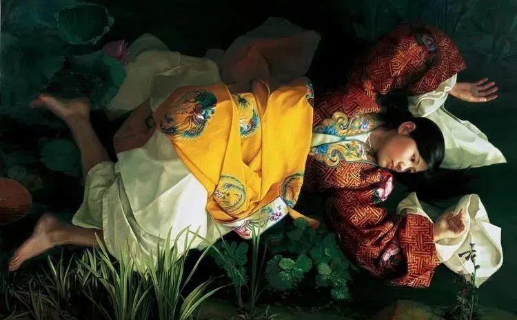 中国油画八人展,美丽的女人和风景!插图37